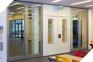 Gebruik ruimte maximaal in scholen met een mobiele wand