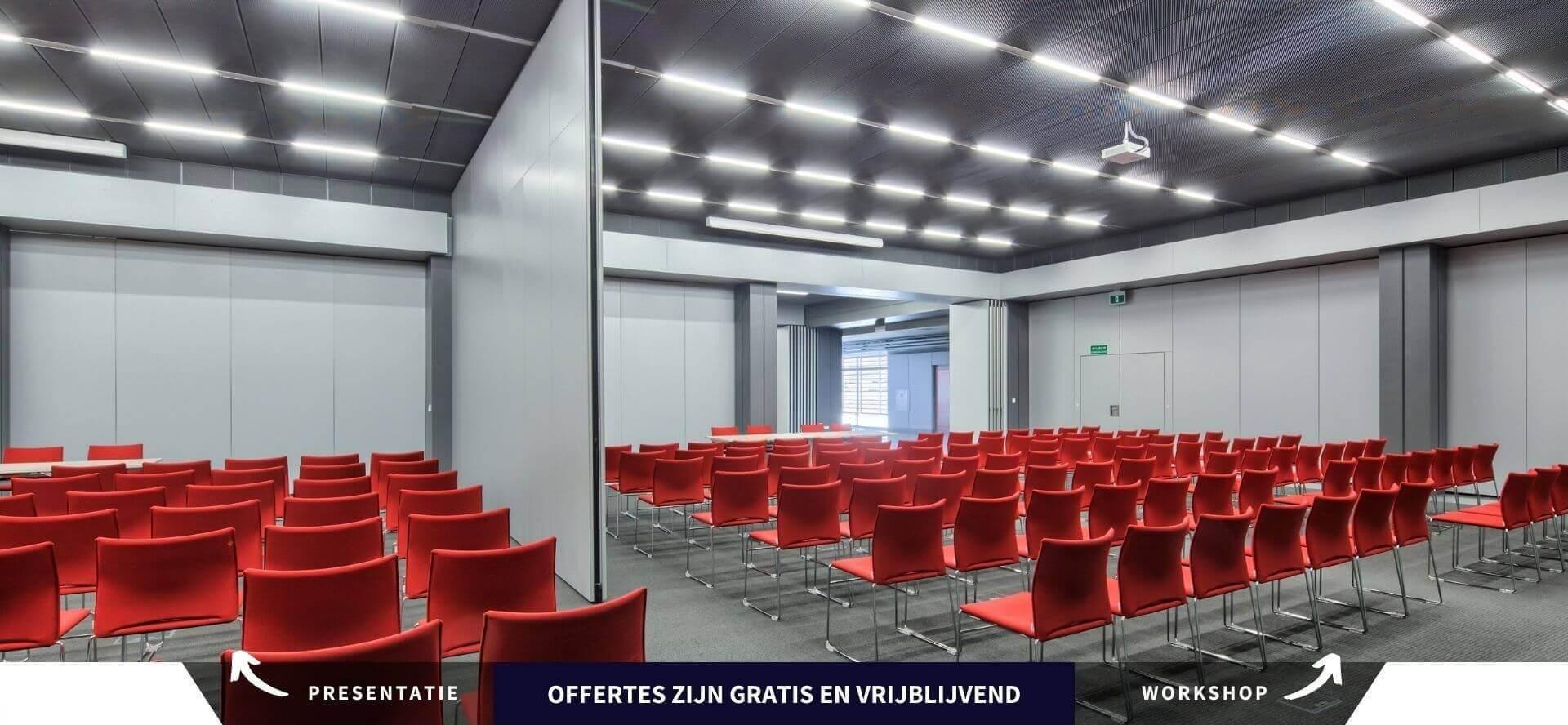 Paneelwand voor Presentaties en Workshops