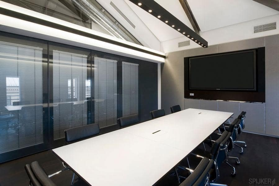 Lichtbehoud en geluidsdemping op kantoor
