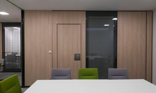 TransSpace glass partitions are sound insulating