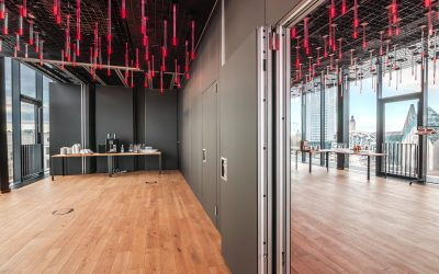 Inspiration for a dark operable partition