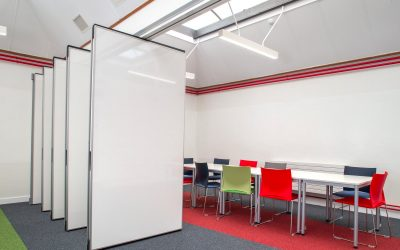 Operable wall Space in a university