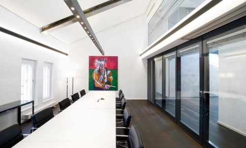 TransSpace glaswanden voor op kantoor