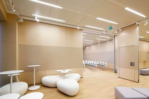 Operable wall Space