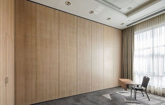 Soundproof operable wall