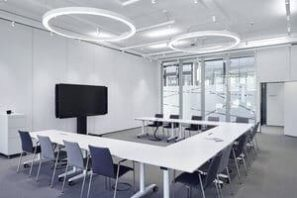 Operable wall in offices