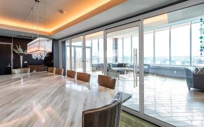 Glaswanden voor open vergaderzalen